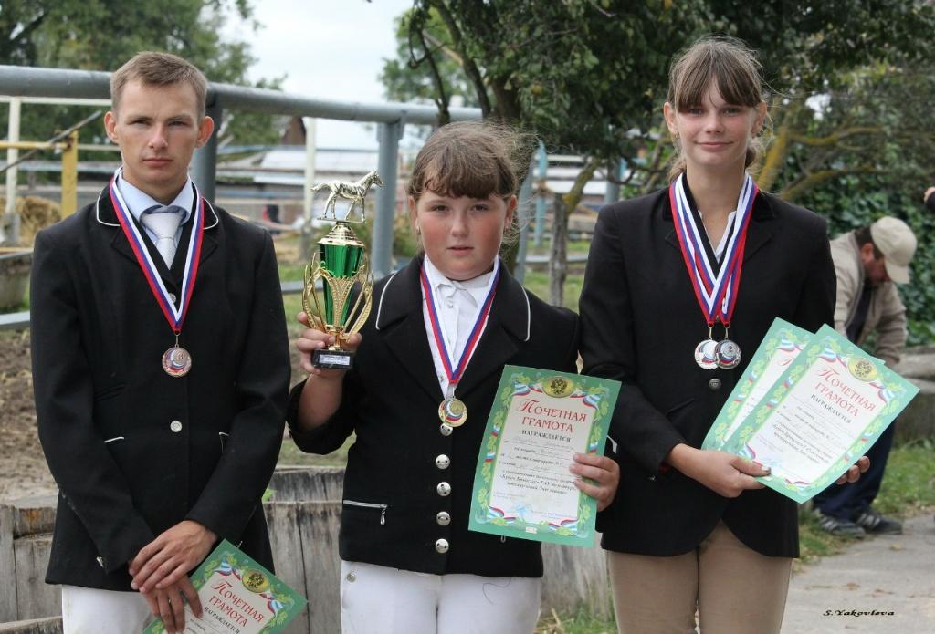 Победитель и призеры команды Брянского ГАУ